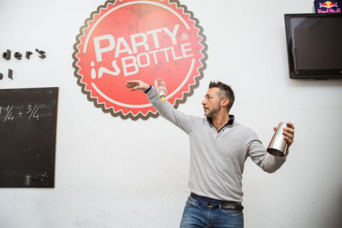 Party in bottle scuola per bartender flair a Roma