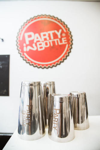 Party in bottle scuola per flair a Roma